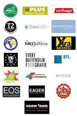 Logo's sponsoren 2016 (per 16 juni)